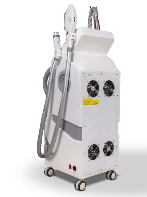 Laser pikosekundowy- Q switch nd yag, Laser IPL OPT , Fale RF
