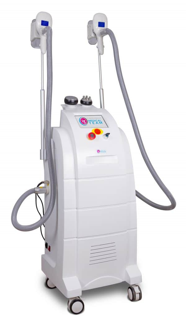 Kriolipoliza ICE-G Medical , kawitacja, RF